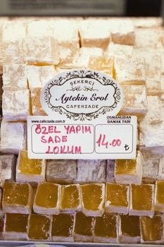 Istanbul Cult Recipes .  Free tutorial with pictures on how to bake a Turkish delight in under 30 minutes by cooking with cornstarch, sugar, and lemon juice. Recipe posted by Murdoch Books.  in the Recipes section Difficulty: 3/5. Cost: 3/5. Steps: 1