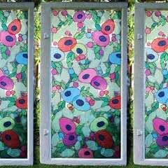 Tissue Paper Stained Glass · How To Make A Decoration · Art