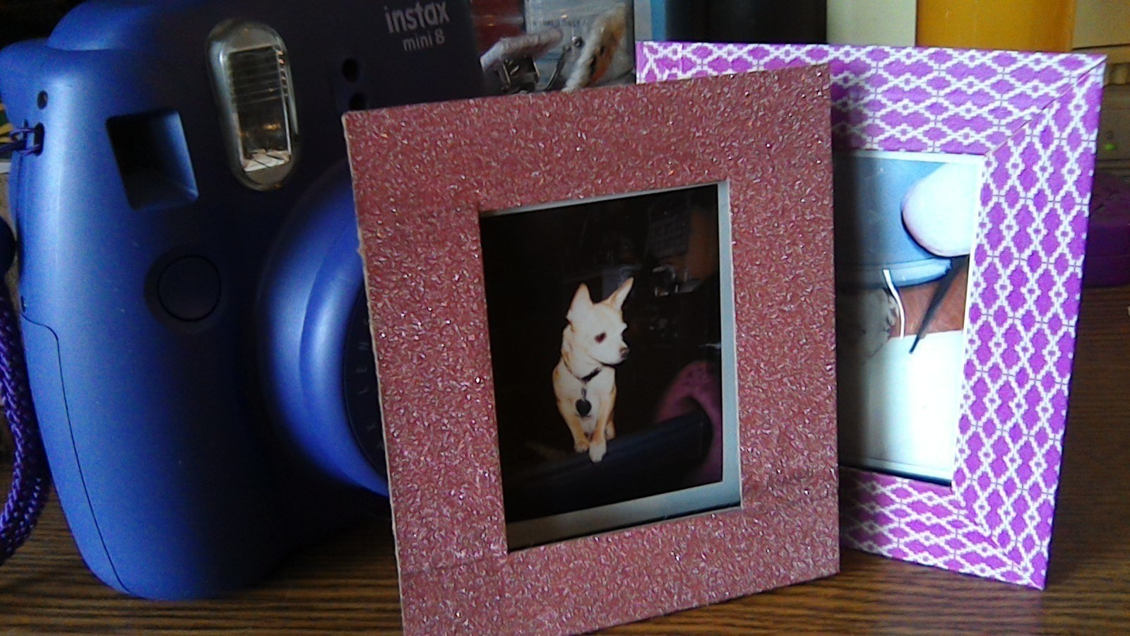 Recycled Instax Film Cartridge Frames · How To Make A Recycled Photo ...