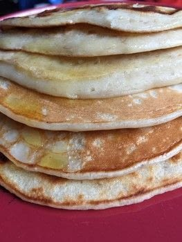 Beware - These are more-ish! .  Free tutorial with pictures on how to cook a pancake in under 10 minutes using coconut oil, banana, and plain flour. Inspired by pancakes and banana. Recipe posted by Laura R.  in the Recipes section Difficulty: Easy. Cost: Cheap. Steps: 9