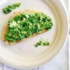 Sweet Pea Avocado Toast