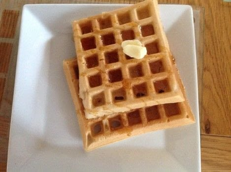 .  Free tutorial with pictures on how to cook waffle in under 30 minutes by cooking with plain flour, brown sugar, and baking powder. Recipe posted by Super Madcow.  in the Recipes section Difficulty: Easy. Cost: Cheap. Steps: 8