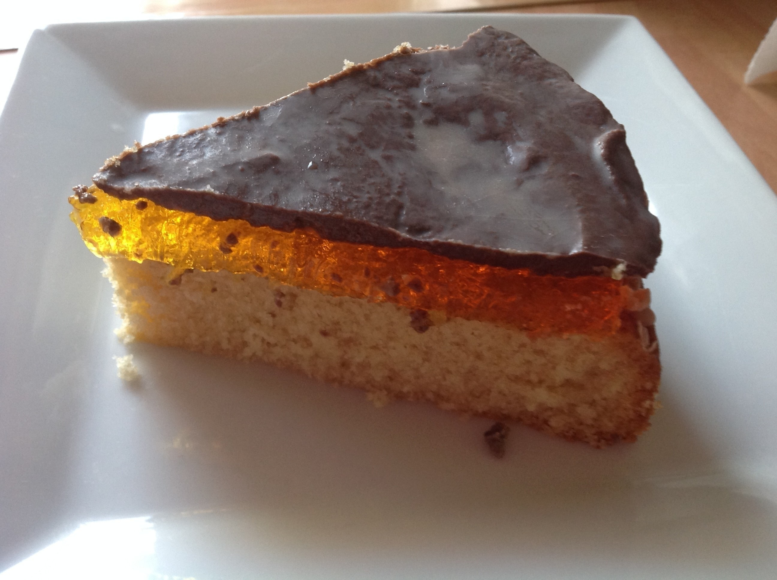 Jaffa Cake Jelly Recipe: Giant Jaffa Cake · How To Bake A Cake · Recipes On Cut Out