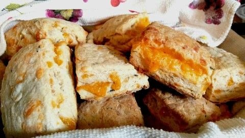 .  Bake a biscuit / scone in under 45 minutes Version posted by Miss_Fit. Difficulty: Simple. Cost: Cheap.