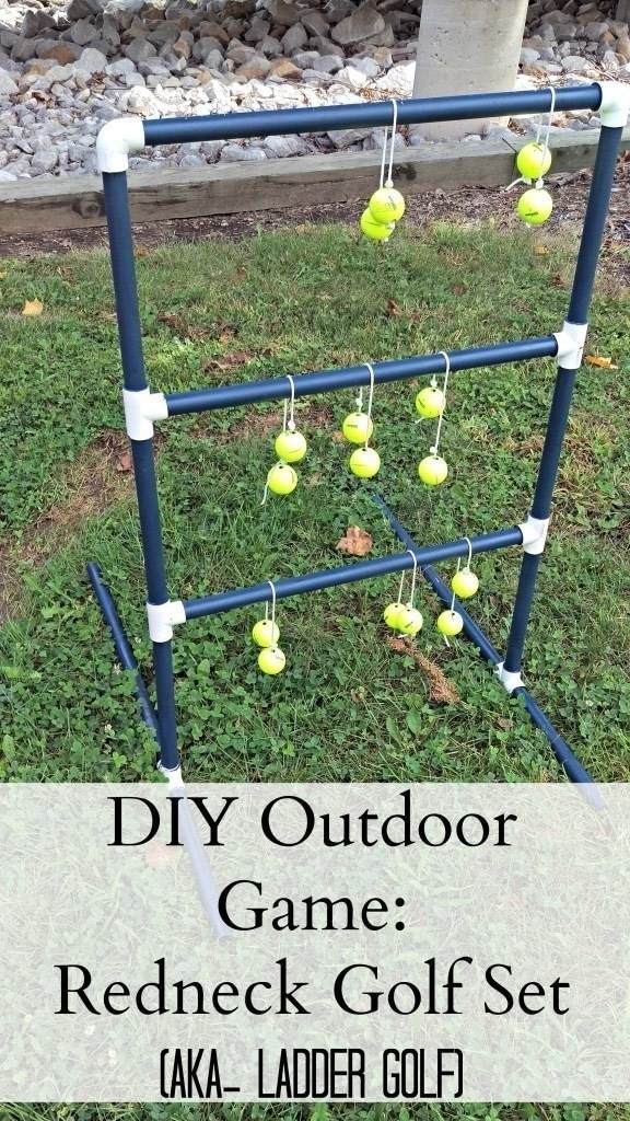 Diy Redneck Golf Set Aka Ladder Golf How To Make A Toy Other On Cut Out Keep