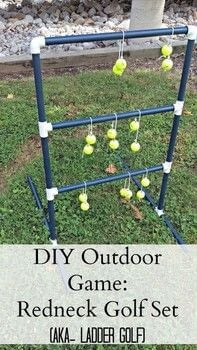 .  Free tutorial with pictures on how to make a toy in under 120 minutes using elbow fitting, rope, and balls. How To posted by Kristina B.  in the Other section Difficulty: Easy. Cost: Cheap. Steps: 3