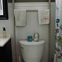 Diy Bathroom Ladder