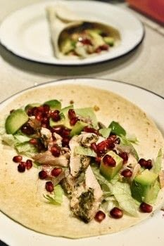 Honey & mustard salmon tacos with avocado and pomegranate! .  Free tutorial with pictures on how to cook a taco in under 35 minutes by cooking with salmon, tin foil, and lemon. Recipe posted by Cat Morley.  in the Recipes section Difficulty: Simple. Cost: Cheap. Steps: 5