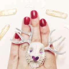 Jackalope Ring