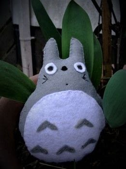Anime,    my neighbour Totoro,      Kawaii .  Sew a movie plushie by sewing with felt, matching thread, and toy stuffing . Creation posted by js-m crafts.  in the Needlework section Difficulty: Easy. Cost: 3/5.