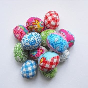 Make a perfect little stash project for spring .  Free tutorial with pictures on how to make a decorative egg in under 60 minutes by hand sewing and machine sewing with fabrics, needle and thread, and pins. How To posted by jemima schlee.  in the Sewing section Difficulty: Easy. Cost: No cost. Steps: 5