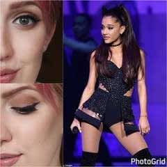 Classic Ariana Grande Make Up