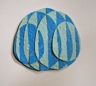 Make a slide together sliceform egg that won't fall apart .  Free tutorial with pictures on how to make an ornament in under 60 minutes using cardstock and scissors. Inspired by easter eggs. How To posted by Carol .  in the Papercraft section Difficulty: 3/5. Cost: Cheap. Steps: 20