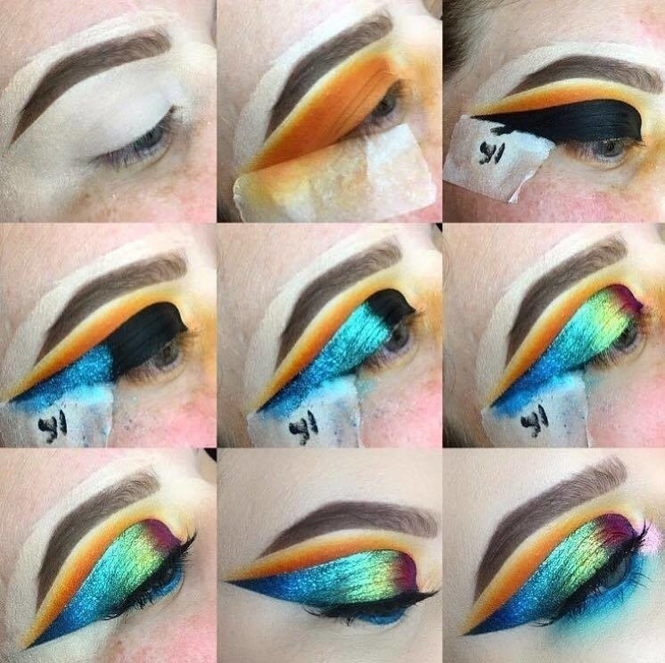 Oil slick eye make up tutorial how to create a black eye makeup this is my version of an oil slick look free tutorial with pictures solutioingenieria Images