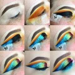 Oil Slick Eye Make-Up Tutorial