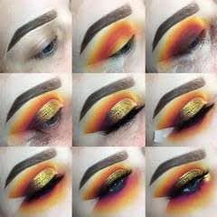 Sunset Cut Crease