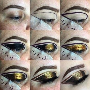 Graphic Liner .  Free tutorial with pictures on how to create a graphic liner look in under 35 minutes by applying makeup with eyeliner. How To posted by Emily Casanova Makeup.  in the Beauty section Difficulty: 5/5. Cost: 3/5. Steps: 9