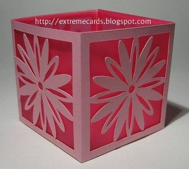 Make a little votive lighted by a battery operated tea light. .  Free tutorial with pictures on how to make a lantern in under 60 minutes using cardstock, vellum paper, and glue. How To posted by Carol .  in the Papercraft section Difficulty: 3/5. Cost: Cheap. Steps: 7