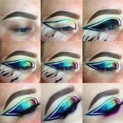 Rainbow Graphic Liner