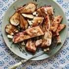 Overnight Roast Pork Belly With Pears & Thyme