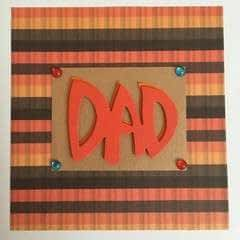 Fathers Day Card   3 D