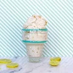 Vegan Key Lime Pie Ice Cream