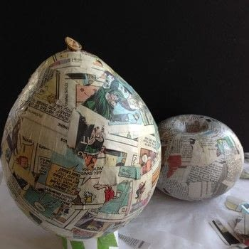 How to Make Your Own Decorative Vases .  Free tutorial with pictures on how to make a decoration in 6 steps using decoupage glue, newspaper, and towel. How To posted by Gail G.  in the Home + DIY section Difficulty: Simple. Cost: Absolutley free.