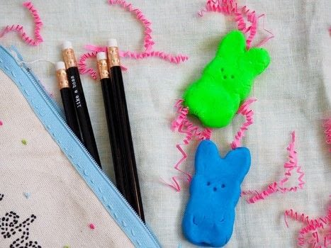 Erase your mistakes with these cute bunny shaped erasers .  Free tutorial with pictures on how to make an eraser in under 120 minutes using oven, eraser, and parchment paper. Inspired by summer holidays and rabbits. How To posted by Haley  R.  in the Home + DIY section Difficulty: Easy. Cost: Cheap. Steps: 3