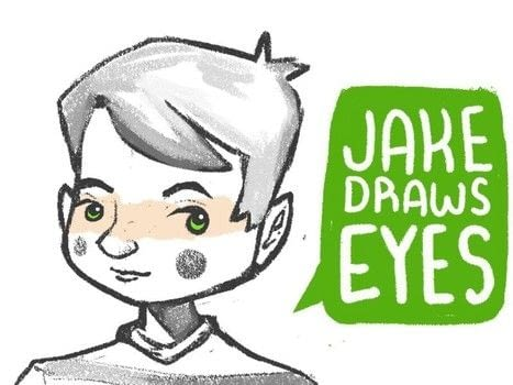 Tutorial: Jake Draw Eyes .  Free tutorial with pictures on how to draw an eye drawing in under 5 minutes by creating and drawing with pencil and paper. How To posted by Jake Romano.  in the Art section Difficulty: Simple. Cost: No cost. Steps: 6