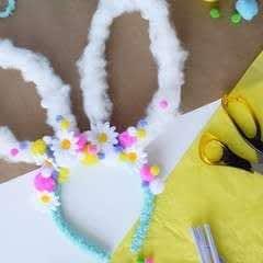 Diy Easter Bunny Headband