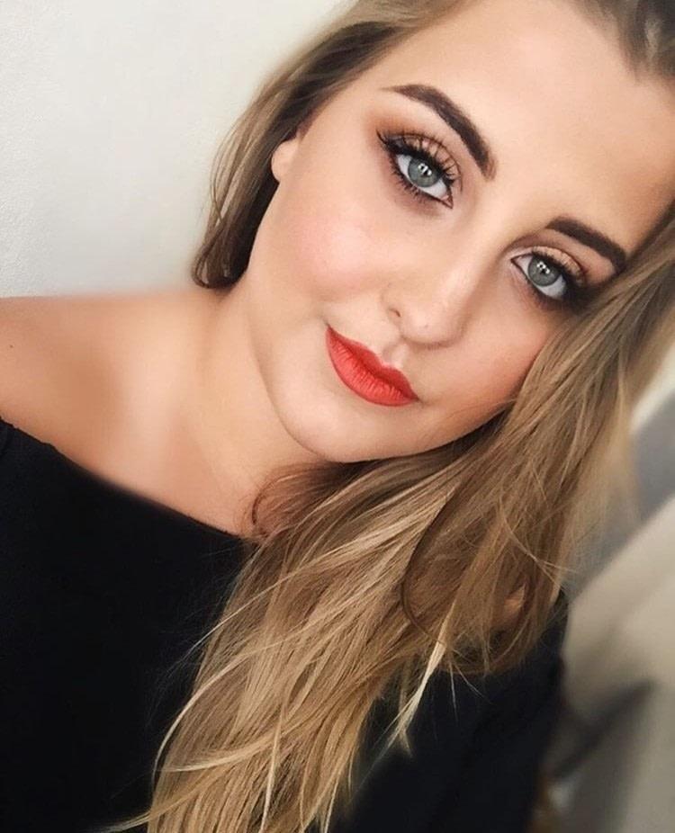 Simple Fresh Everyday Look With Orange Lips · How To Create
