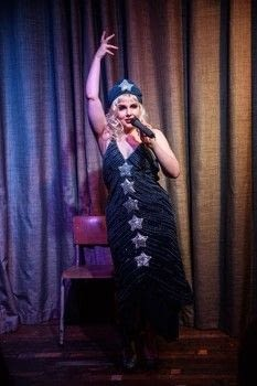Making your own glam .  Make a costume in under 120 minutes by hand sewing with sequins, felt, and thread. Inspired by burlesque & pinup. Creation posted by Markee R.  in the Needlework section Difficulty: 3/5. Cost: Cheap.