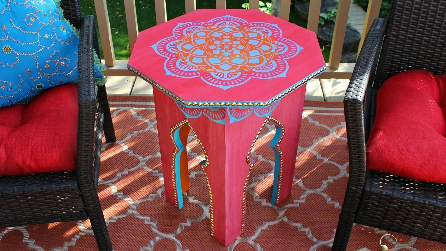 ... Make A Moroccan Side Table . Free Tutorial With Pictures On How To Make  A Side