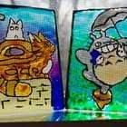 My Neighbor Totoro Stained Glass