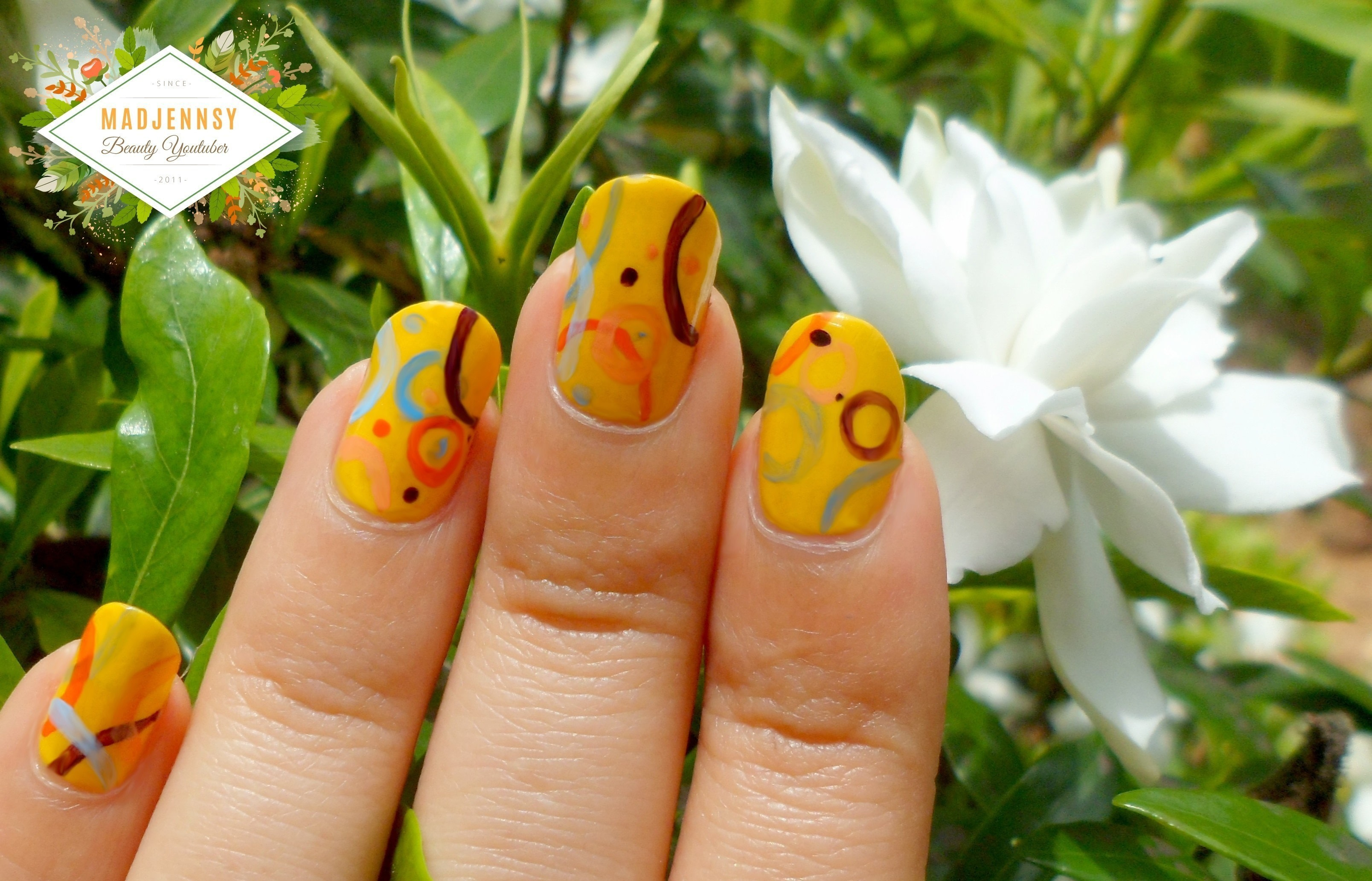 Abstract & Artistic Jp Mag Inspired Nail Art ネイルアート · How To ...