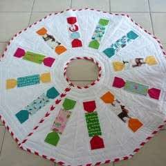 Animal Crackers Tree Skirt Pattern