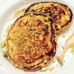 Rose & Pistachio Pancakes
