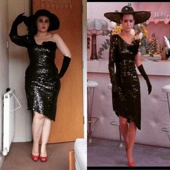 First you go snip, snip, snip .  Make an chracter costume in under 180 minutes by sewing with sequins. Inspired by the rocky horror picture show. Creation posted by Markee R.  in the Sewing section Difficulty: 3/5. Cost: 3/5.