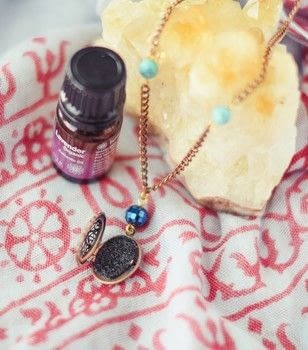 Learn how to make essential oil diffusers necklace with simple techniques! .  Free tutorial with pictures on how to make a pendant necklace in under 60 minutes by jewelrymaking with toggle clasp. Inspired by bohemian. How To posted by Quiet Lion.  in the Jewelry section Difficulty: Easy. Cost: Cheap. Steps: 8