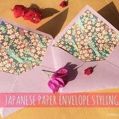 Diy: Japanese Paper Envelope Styling
