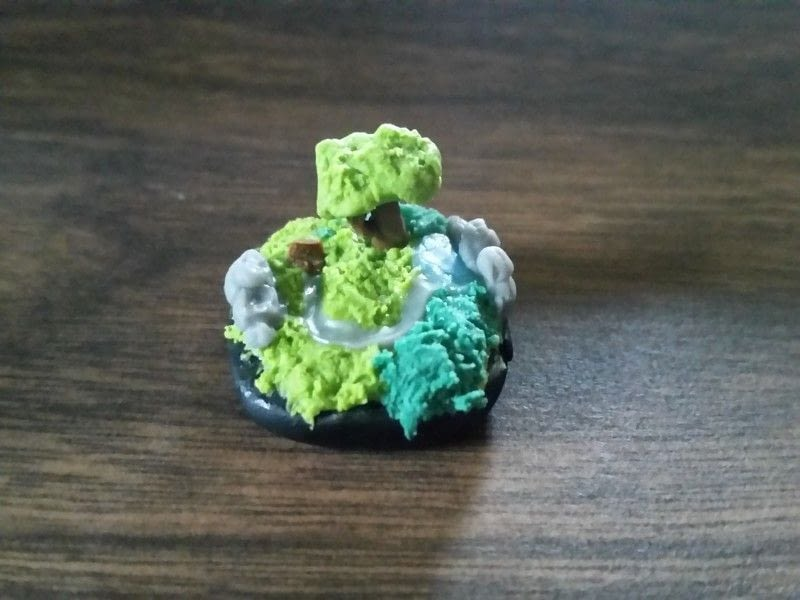 Mini Cold Porcelain Islands 183 A Clay Model 183 Art On Cut