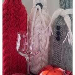 Christmas (And Other Occasions) Wine Cosies