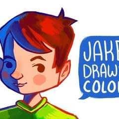 Jake's Painting Process