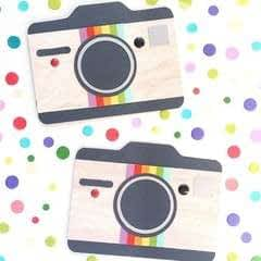 Camera Shaped Cards