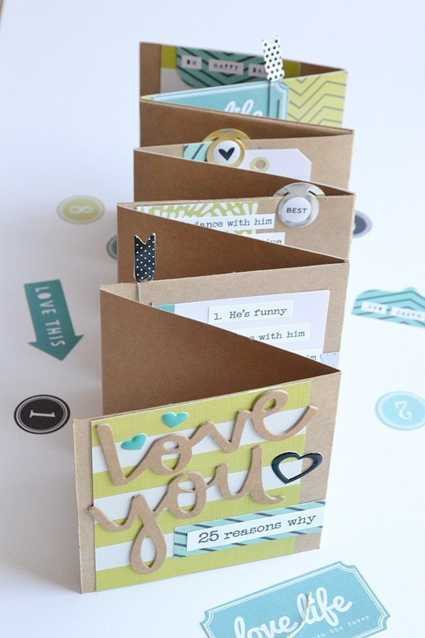 Make Your Own Fold Out Photo Al Free Tutorial With Pictures On How
