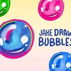 Jake Draws Bubbles