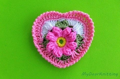 Pretty and easy crochet heart .  Make a shape plushie in under 60 minutes by crocheting with yarn. Creation posted by Helen T.  in the Yarncraft section Difficulty: Simple. Cost: No cost.