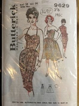 With matching Bolero. .  Sew a hand sewn dress in under 180 minutes by sewing with material. Inspired by vintage & retro. Creation posted by Markee R.  in the Sewing section Difficulty: Simple. Cost: Cheap.