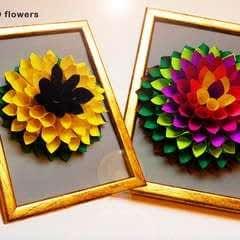 Diy 3 D Flower Gift Decor