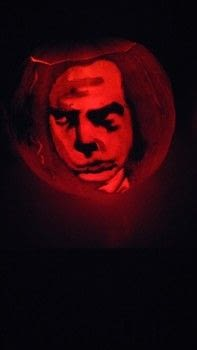 Nick cave .  Make a model or sculpture in under 180 minutes by creating with pumpkin and carving tools. Inspired by pumpkins and carving. Creation posted by Phoebe O.  in the Art section Difficulty: 3/5. Cost: Cheap.